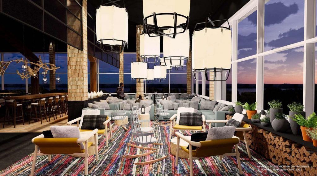 Club Med Quebec bar