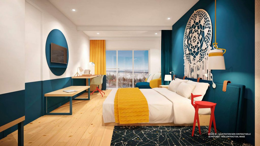 Club Med Quebec rooms