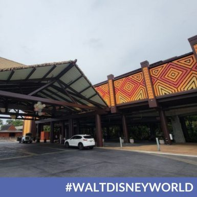 Disney's Polynesian Village Resort's New Front Entrance is Revealed
