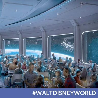 Space 220 Restaurant in EPCOT Officially Opening September 20