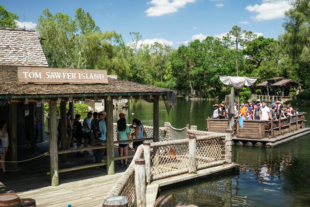 Magic Kingdom's Tom Sawyer Island Evacuated Due to 'Armed and Suspicious' Person on Saturday
