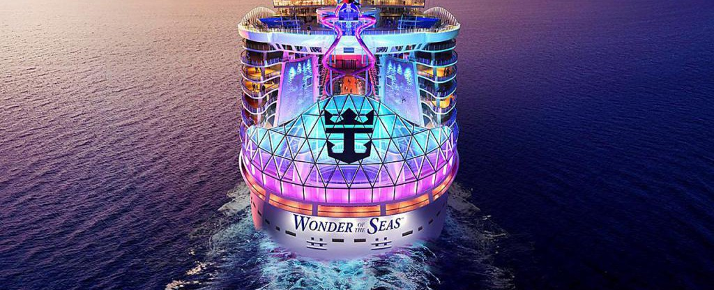 wonder of the seas stern